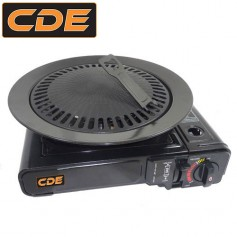 Pack CDE Réchaud Portable + Grill Barbecue.