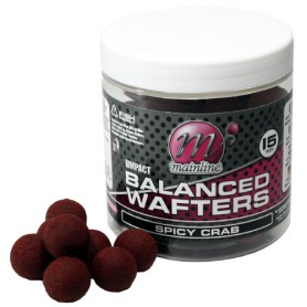 Mainline High Impact Spicy Crab Balanced Wafters 15mm