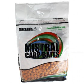 Bouillettes Mistral Baits Rosehip Isotonic 5kg
