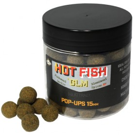 Dynamite Baits Hot Fish & GLM Pop-Ups 15mm