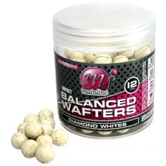 Mainline High Impact Wafters 12mm Diamond Whites (équilibrée)
