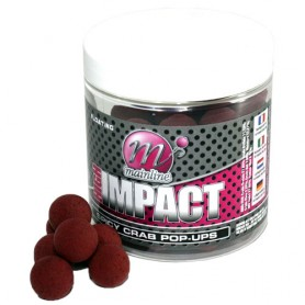 Mainline High Impact Spicy Crab Pop-Ups 15mm