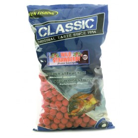 Bouillettes Fun Fishing Classic Fraise Sauvage 20mm 4kg