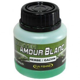 Booster Fun Fishing Amour Blanc Herbe & Gazon 100ml