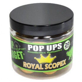 Pop Ups Carp Target Royal Scopex 20mm 60g