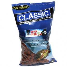 Bouillettes Fun Fishing Classic Spicy Fish 20mm 4kg