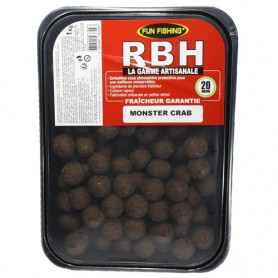 Bouillettes Fun Fishing RBH Monster Crabe 20mm 1kg