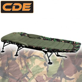 Bedchair CDE Line Style Flat 6 pieds Camou