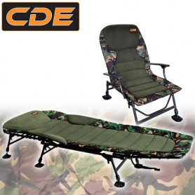Pack Confort CDE Bed Flat & Level Camou Line Style RS