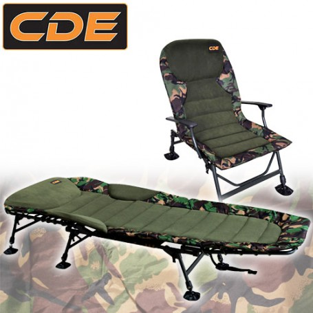 Pack Confort CDE Bed Flat & Level Camou Line Style