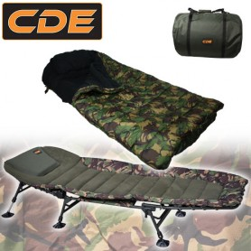 Pack Confort CDE Bed Camo & Duvet 5 Saisons Camou