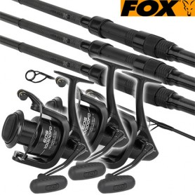 Ensemble Fox Horizon X3 12' 3lbs 50mm & 10000FD ( les 3 )