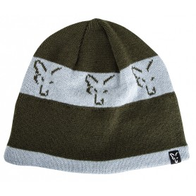 Bonnet Fox Green & Silver Beanie