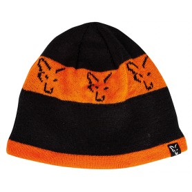 Bonnet Fox Black & Orange Beanie