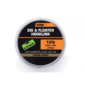 Zig & Floater Fox Edges Hooklink Trans Khaki