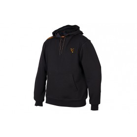 Sweat Fox Collection Black & Orange Hoodie
