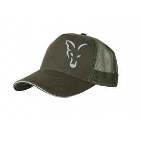 Casquette Fox Green & Silver Trucker Cap