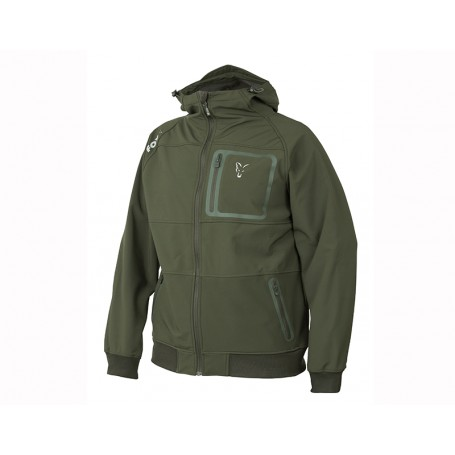 Veste Fox Collection Green & Silver Shell Hoodie
