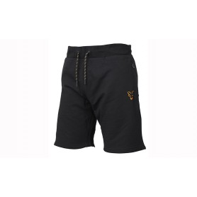 Short Fox Collection Black & Orange Lightweight Shorts