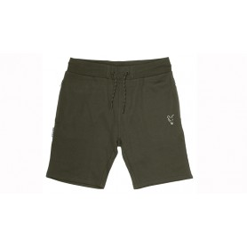 Short Fox Collection Green & Silver Lightweight Shorts