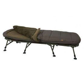Bedchair Fox Flatliner 8 Pieds 5 Saisons Sleep System