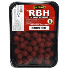 Bouillettes Fun Fishing RBH Robin Red 20mm 1kg