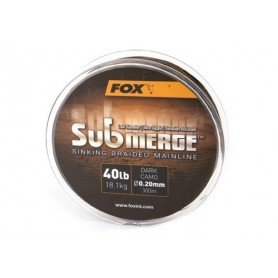 Submerge Sinking Braided Mainline 0.20mm 600m Fox