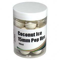 Mistral Baits Pop-Ups Instant Coconut Ice 15mm 100ml