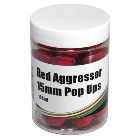 Mistral Baits Pop-Ups Instant Red Aggressor 15mm