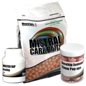 Pack Appâts Mistral Baits Rosehip Isotonic 5kg 20mm