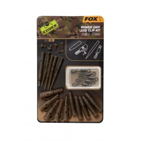 Kit de Montage Fox Edges Camo Power Grip Lead Clip