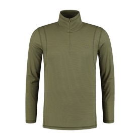 Sweat Korda Kool Quick Dry Long Sleeve Zip Neck