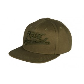 Casquette Fox Khaki College Snap Back