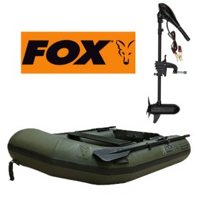 Pack Fox Boat 200 Plancher Lattes & Fox 45lbs Blade Prop