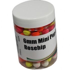 Mistral Baits Rosehip Mini Pop Ups 6mm