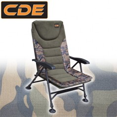 Level Chair APEX Camou CDE S1 Accoudoirs