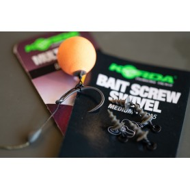 Vis à Appâts Micro Ring Swivel Bait Screw Medium