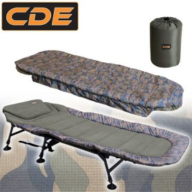 Pack Confort CDE APEX Camou Bedchair S1 6Pieds & Duvet CDE APEX Camou Ripstop