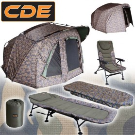 Pack Full APEX Camou Biwy & Bed & Level & Duvet