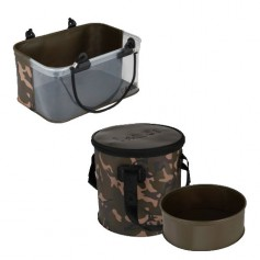 Pack Fox Aquos Camolite Bucket & Insert 12L & Rig Water