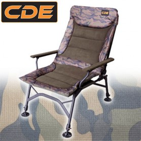 Level Chair APEX Camou CDE S1 Recliner Accoudoirs