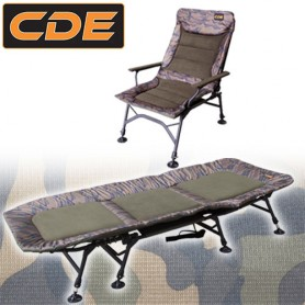 Pack Confort CDE APEX Camou Bed S1 Wide 8 Pieds & Level Recliner