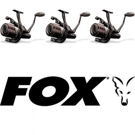 Pack EOS 10000 Reel Fox (Freespool) (x3)