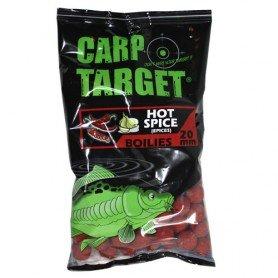 Bouillettes Carp Target Hot Spice 20mm 800g