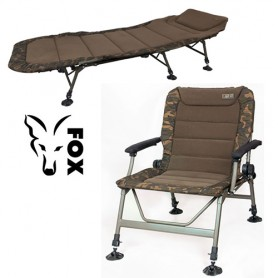 Pack Fox Royale Bedchair & Level R2 Camo