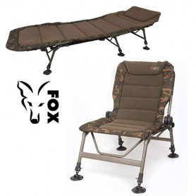Pack Fox Royale Bedchair & Level R1 Camo