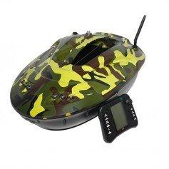 Bateau Amorceur CDE Leader LX6 Echosondeur GPS Camo