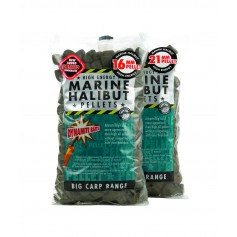Pellets Dynamite Baits Marine Halibut Pre-Drilled 900g
