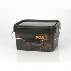 Seau Fox Camo Square Buckets 5L