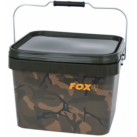 Seau Fox Camo Square Buckets 10L